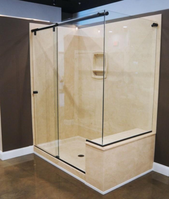 Duschkabine Fr Badewanne Aus Glas : 120 moderne Designs von Glaswand Dusche!
