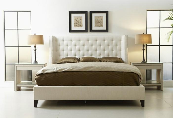 interessantes-design-polsterbetten-mit-bettkasten-zwei-bilder-an-der-wand-im-schlafzimmer