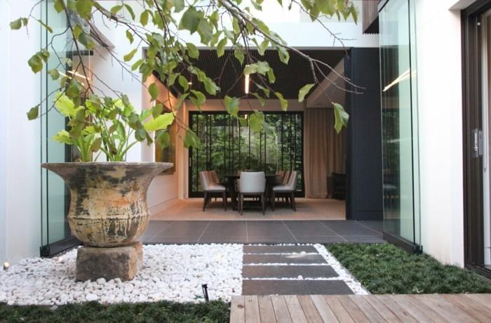 kleine-gärten-ideen-modernes-exterieur