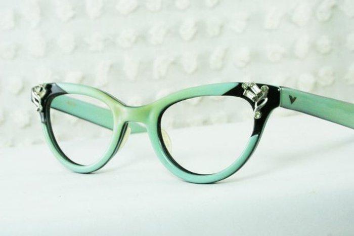 kokette-grüne-Brillen-ohne-Stärke-für-Damen