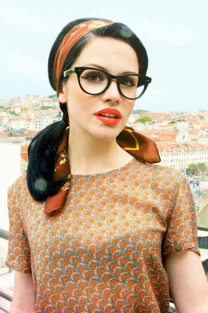 kokettes-schickes-Modell-Brillen-ohne-Stärke-für-Damen