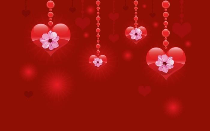 kostenlose-bilder-valentinstag-hängende-herzen-wallpaper