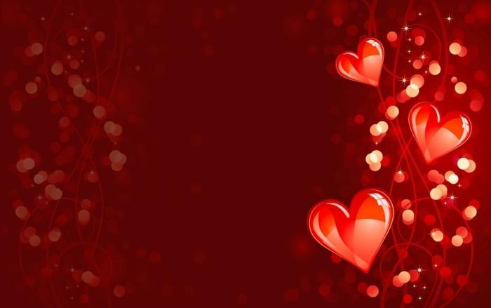 kostenlose-bilder-valentinstag-roter-hintergrund-leuchtende-herzen