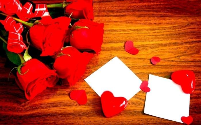 kostenlose-bilder-valentinstag-sehr-interessanter-blumenstrauß-aus-rosen