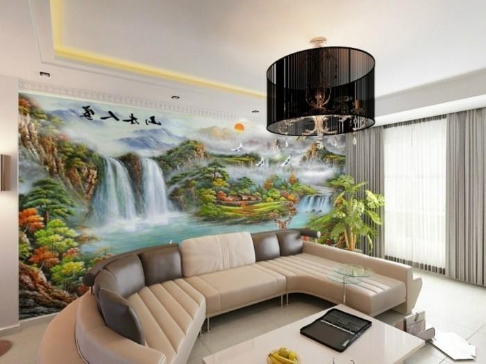 Fototapete Wohnzimmer Braun ~ Alle Ideen für Ihr Haus Design und Möbel