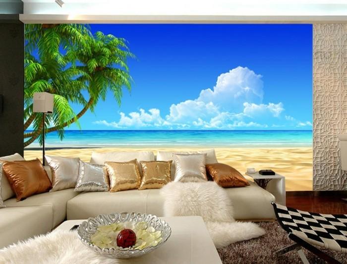 kreative-wanddeko-im-tollen-wohnzimmer-weißes-sofa-mit-dekokissen