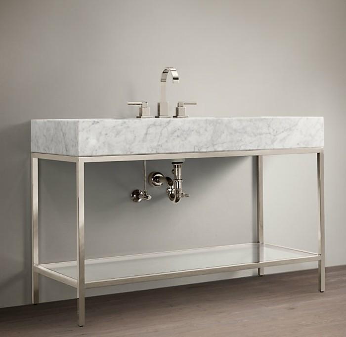 kreatives-modell-waschtischplatte-weiße-gestaltung-von-badezimmer
