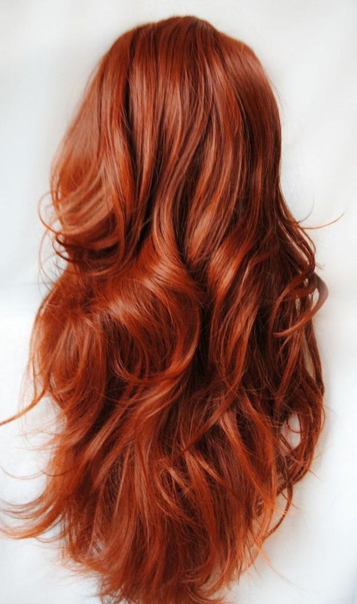 Haarfarben kupferrot
