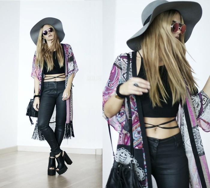 langes-Modell-Kimono-in-boho-chic-Stil