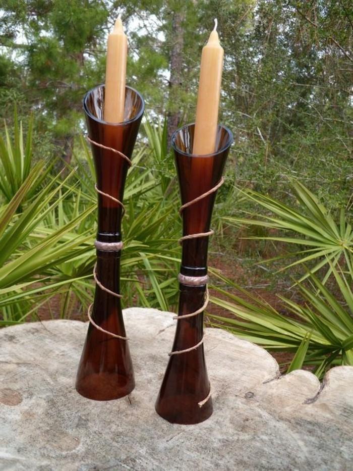 leichte-DIY-Idee-Kerzenhalter-aus-Weinflaschen-basteln