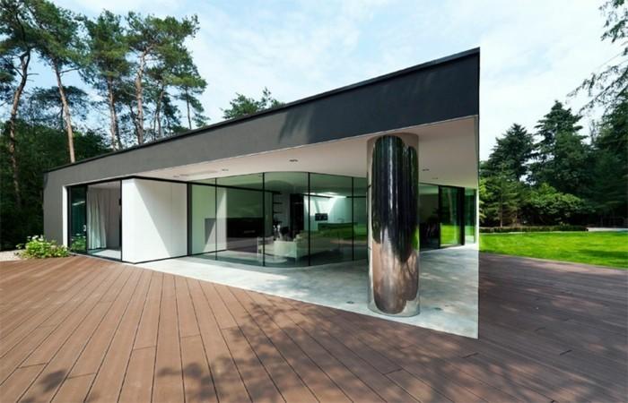 minimalistisches-haus-schöne-moderne-terrasse