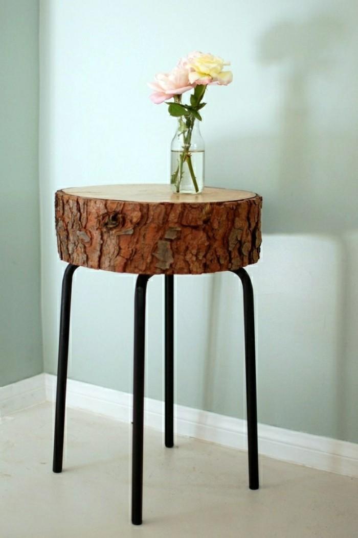 Moderne Deko Ideen Diy Gestaltung Kleiner Tisch Und