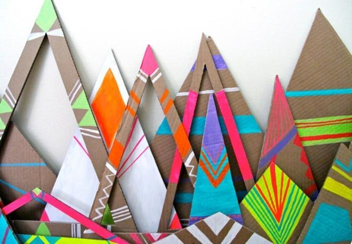 moderne-deko-ideen-diy-gestaltung-modernes-design-bunte-elemente