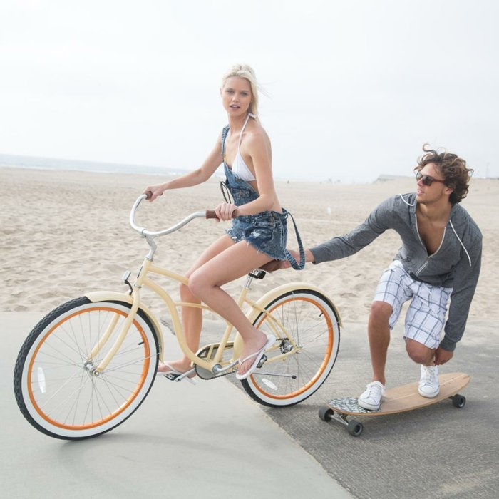 modernes-Fahrrad-in-vintage-Stil