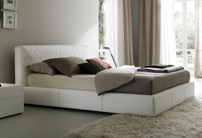elegantes modell polsterbett mit kasten - elegantes design