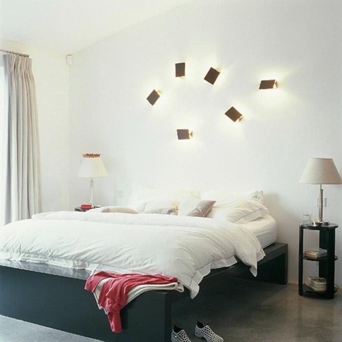 modernes-schlafzimmer-super-interessante-wandleuchten