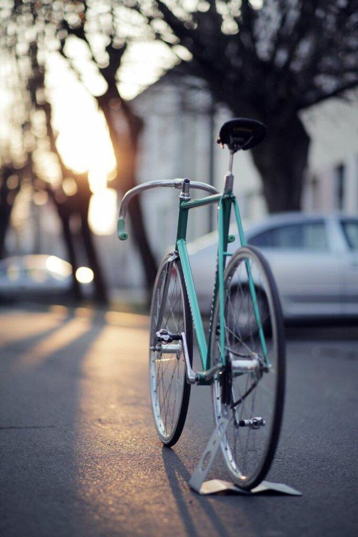 neue-Trend-vintage-Fahrräder-fahren