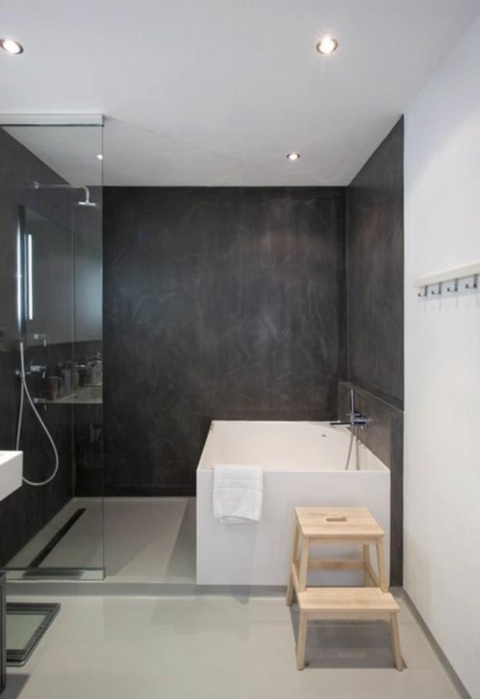 Badezimmer Badewanne Dusche - Wohndesign
