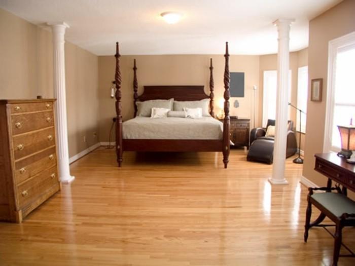 pvc-bodenbeläge-schönes-schlafzimmer-mit-einem-bequemen-bett