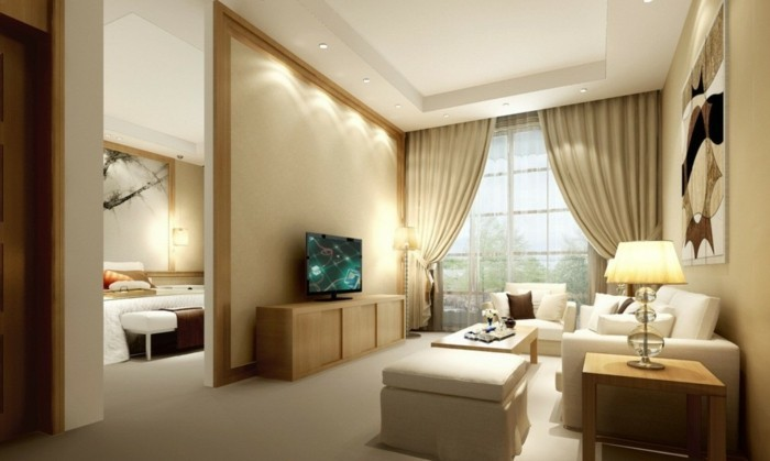 Beautiful Gardinen Wohnzimmer Beige Ideas - New Home Design 2018 ...