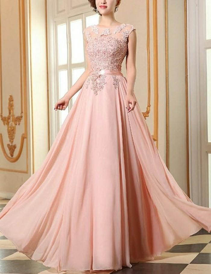 rosa-brautkleider-lang-ohne-ärmel