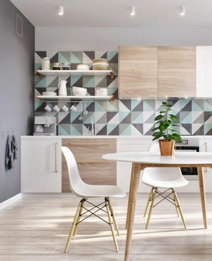 Design Bett Holz