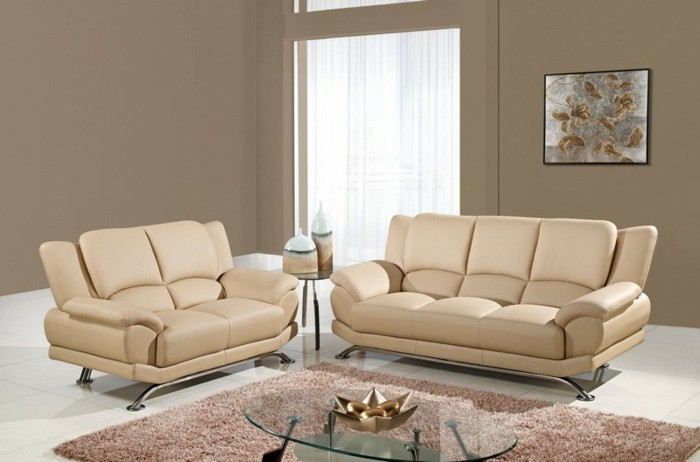 40 Best Corner Sofa Styles | Grey, White Pillows And The Doors ... Wohnzimmer Cappuccino Weis