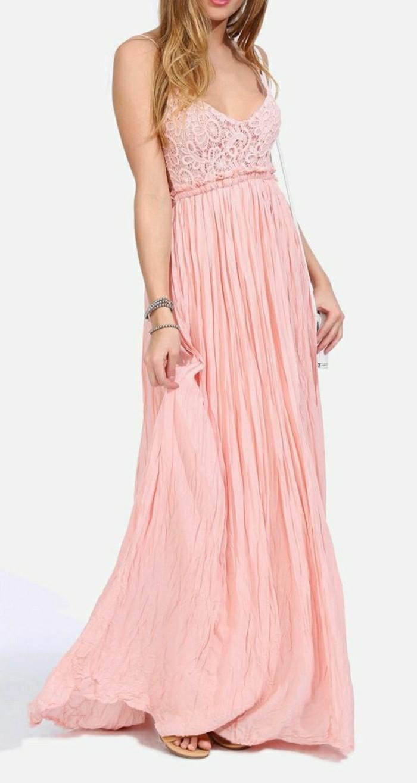 schlichte-brautkleider-rosa