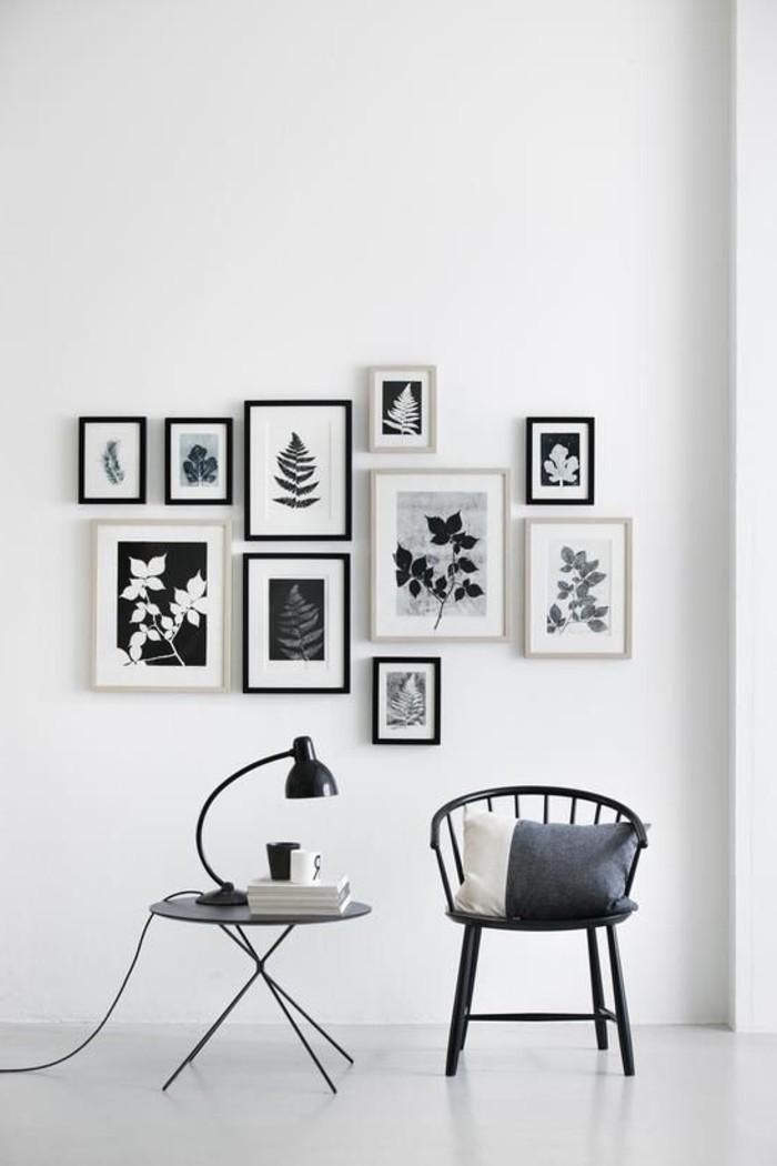 schlichtes-schwarz-weißes-Interieur-einfache-minimalistische-Einrichtung