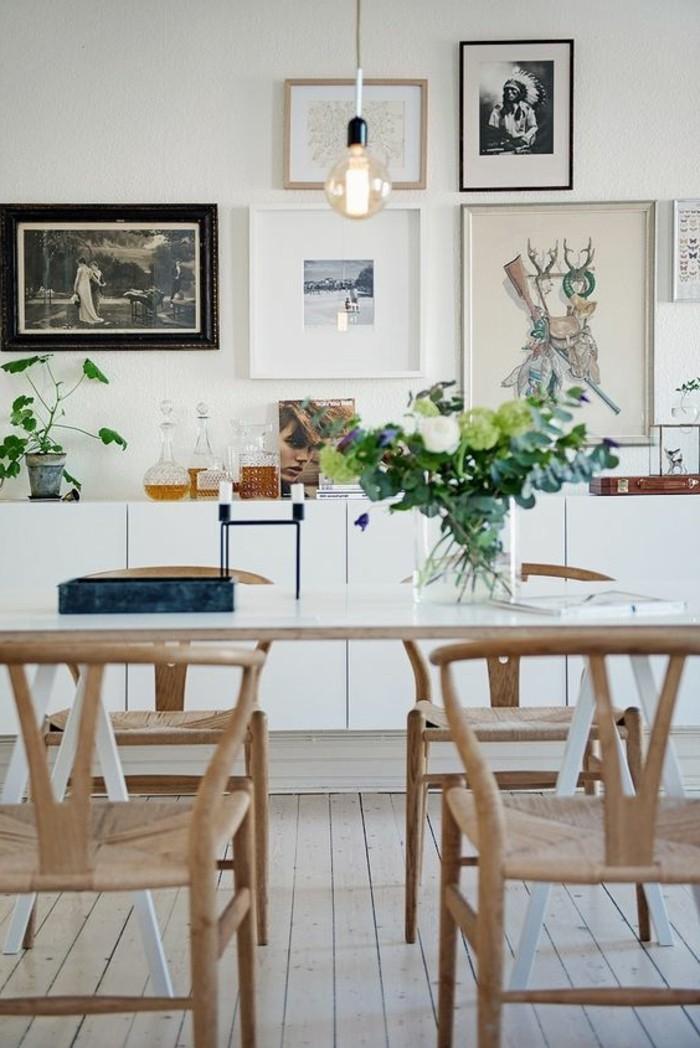 simple-Küchen-Gestaltung-Art-Bilder-bequeme-Stühle