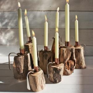Kerzenhalter basteln - leichter als Sie denken!