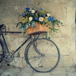 Das vintage Fahrrad und sein romantischer Reiz