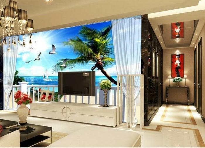 super-schöne-wandtapeten-mit-natur-thematik-unikales-wohnzimmer