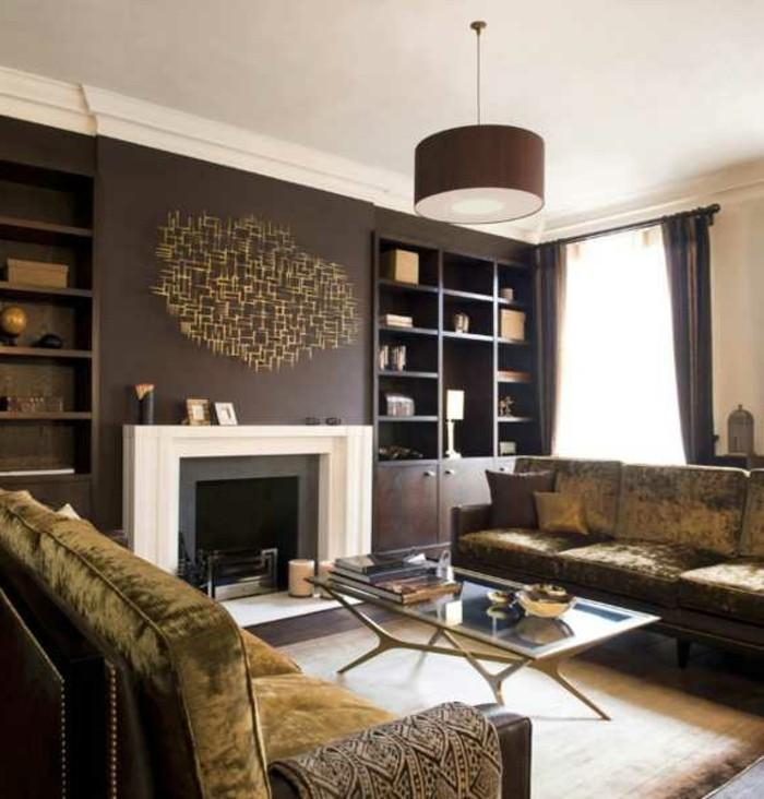 wohnzimmer beige rot:Interessantes Sofa mit auffälliger Farbe: Mischung aus Rot und Braun