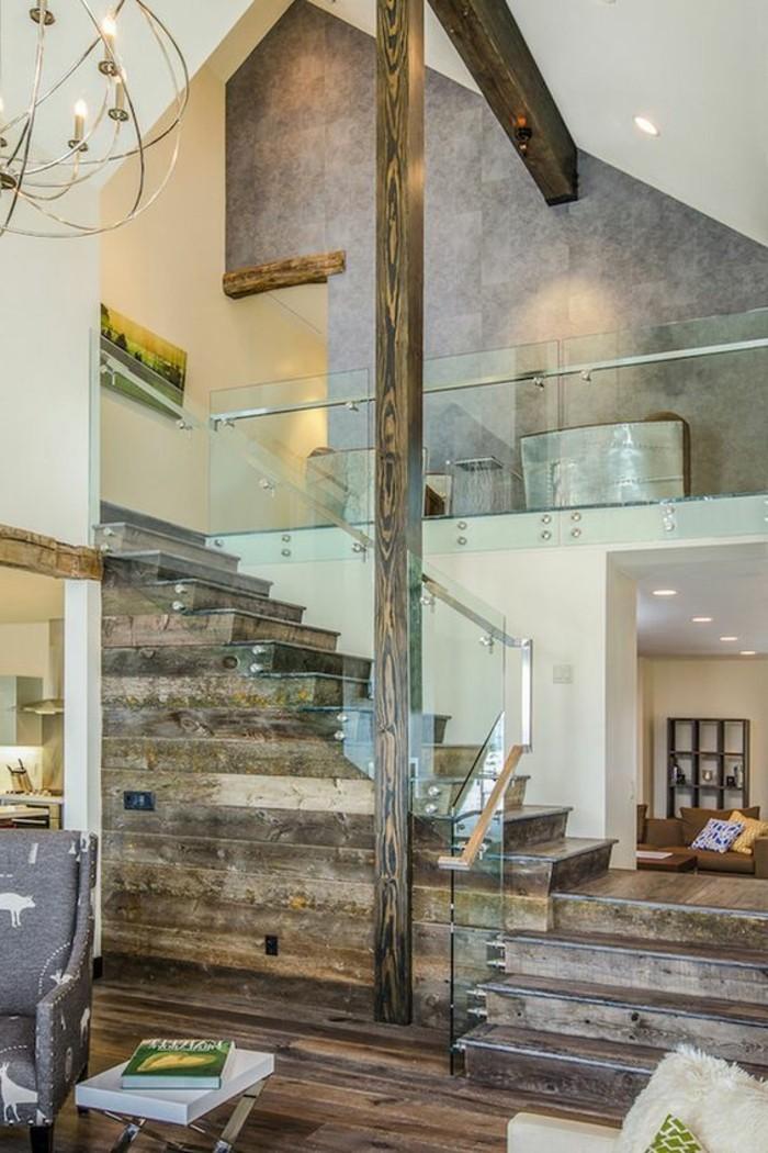 treppen-glasgeländer-und-rustikal-holz