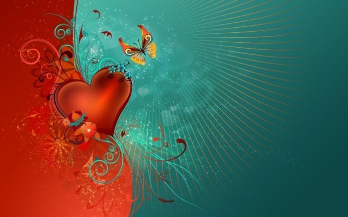 valentinstag-bilder-blaue-und-rote-farbe-zusammenbringen