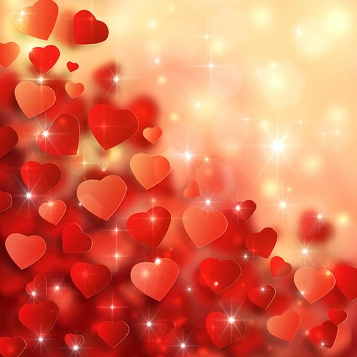 valentinstag-bilder-herrlicher-hintergrund-kleine-schöne-herzen