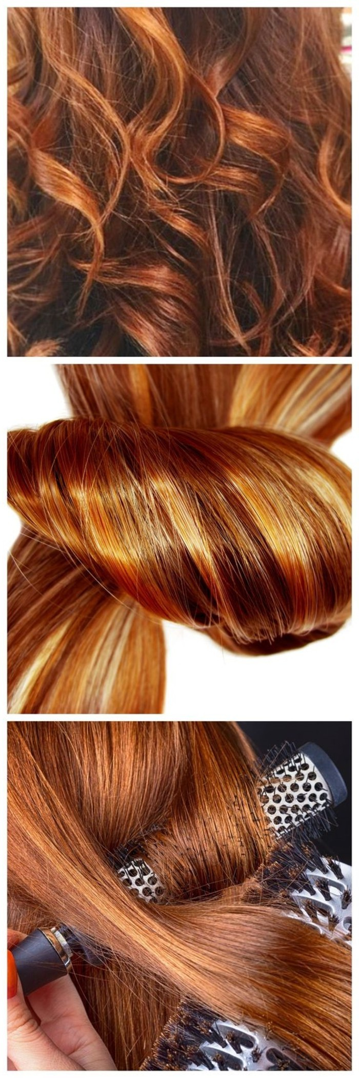 verschiedenartige-Frisur-Ideen-für-Kupfer-Haarfarbe