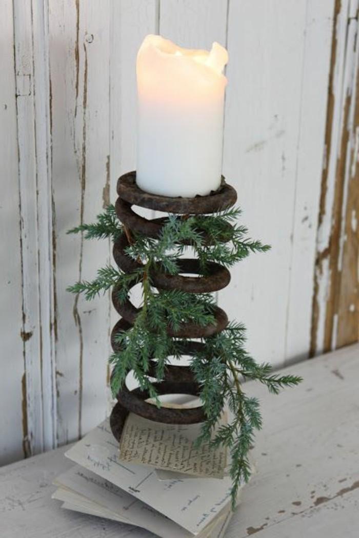 vintage-Kerzenhalter-basteln-alte-Feder-gebrauchen