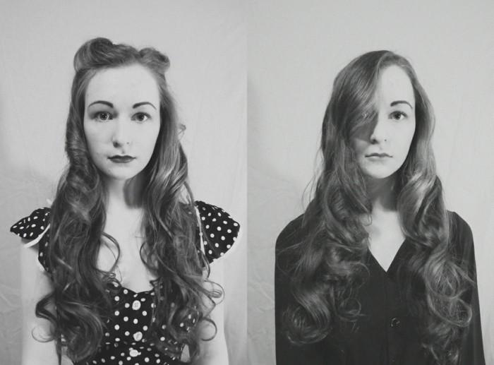 vintage-darstellung-der-20er-jahre-zwei-bilder-in-schwarz-und-weiß
