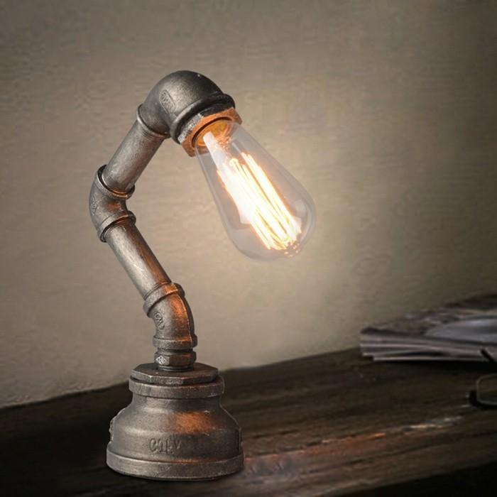 vintage-gestaltung-tischlampen-fürs-schlafzimmer