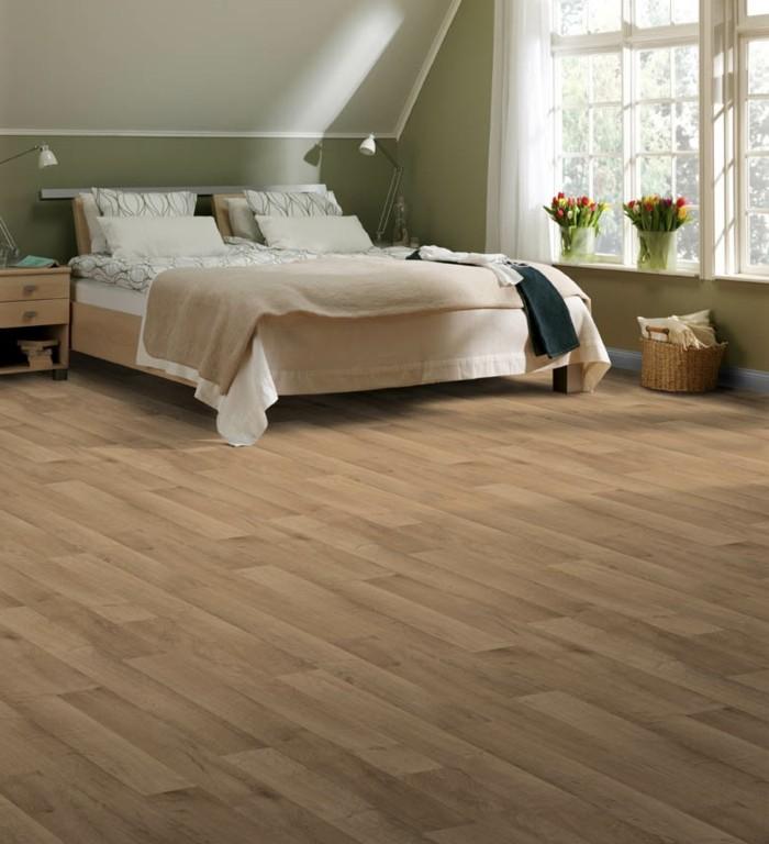 Vinyl b den liegen im trend for Boden schlafzimmer