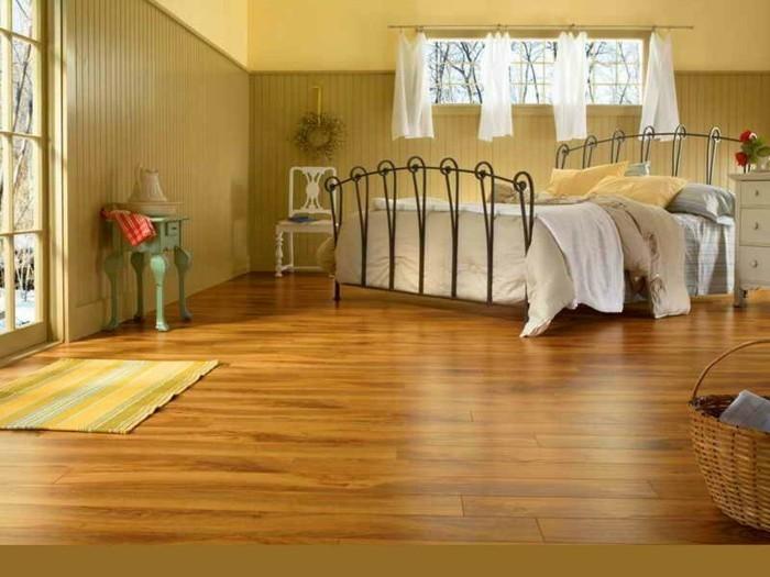 vinylboden-schönes-design-vom-schlafzimmer