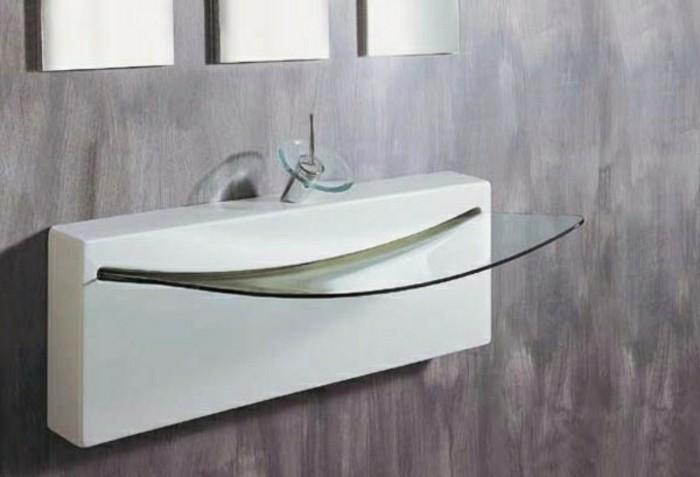 Erstaunliche Glas Waschbecken Modelle für jedes Badezimmer ... | {Waschbecken modern 9}