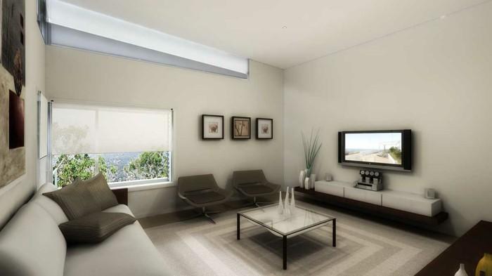 weißes-sofa-und-moderne-beleuchtung-beige-wohnideen-fürs-wohnzimmer