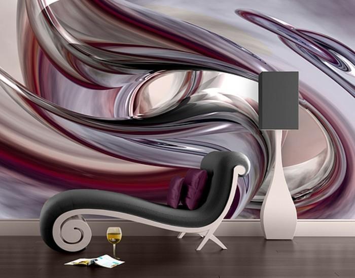 3d tapete f r eine tolle wohnung. Black Bedroom Furniture Sets. Home Design Ideas