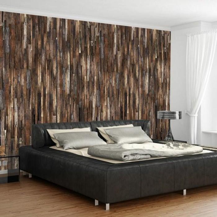 Vliestapete schlafzimmer ideen  3D Tapete für eine tolle Wohnung! - Archzine.net