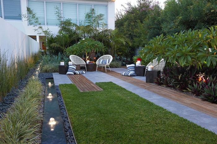 wunderschöne-gestaltung-von-terrasse-grüner-gras