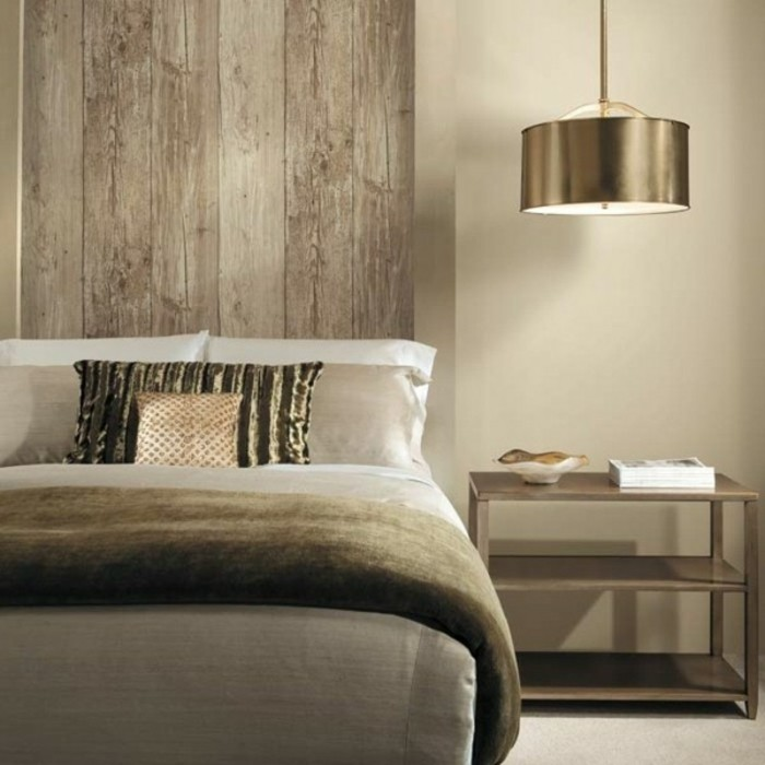 3d tapete f r eine tolle wohnung - Wood effect wallpaper living room ...