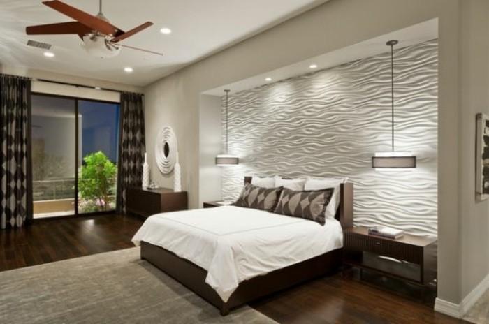wunderschönes-modell-schlafzimmer-unikale-hängeleuchten